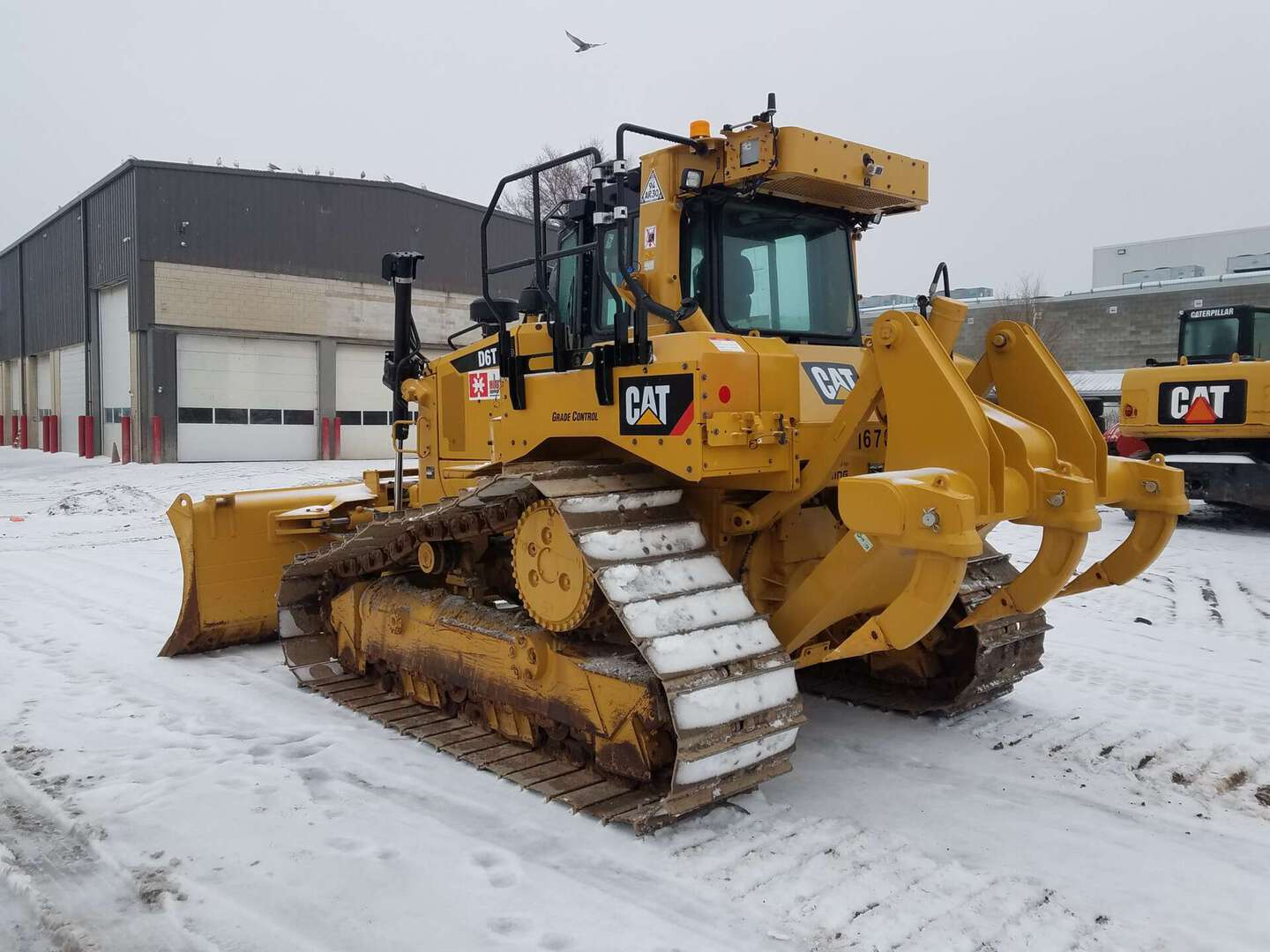 Used, 2017, CAT, D6T LGP VP, Bulldozers