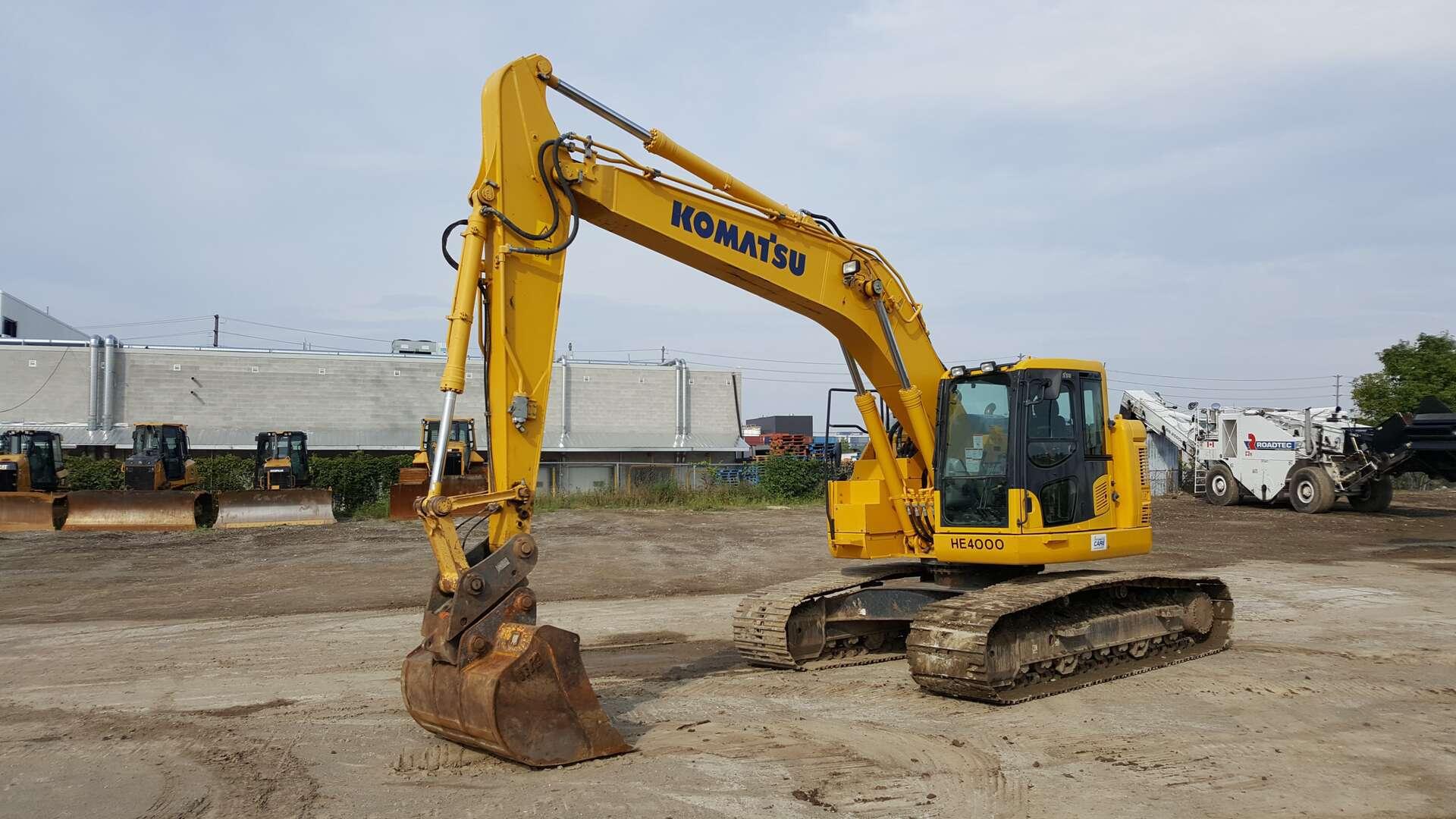 Used, 2014, Komatsu, PC228USLC-10, Excavators