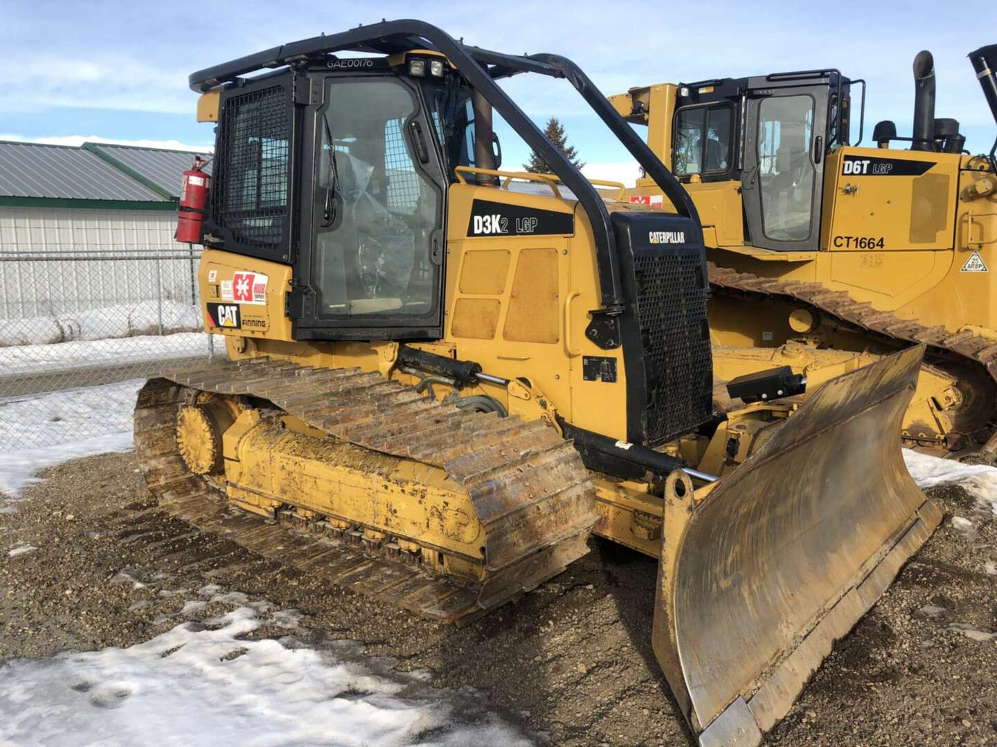 Used, 2014, CAT, D3K2 LGP, Bulldozers