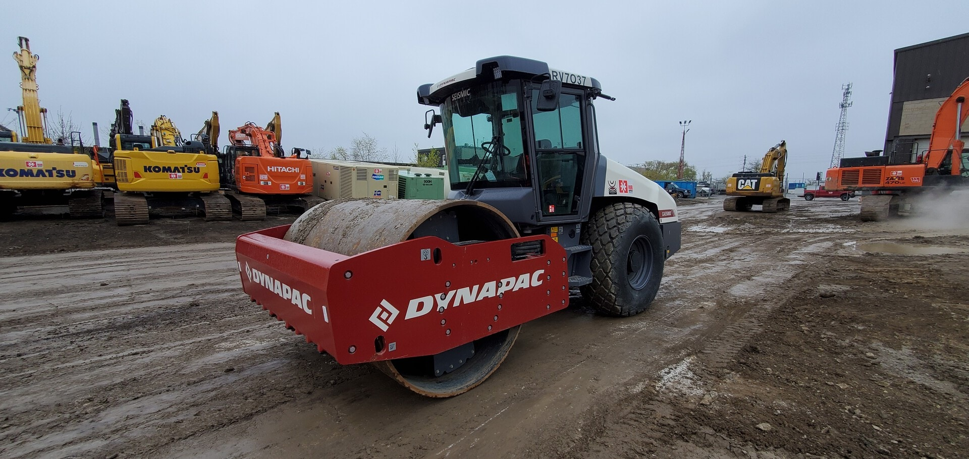 Used, 2019, Dynapac, CA3500D, Compaction Roller