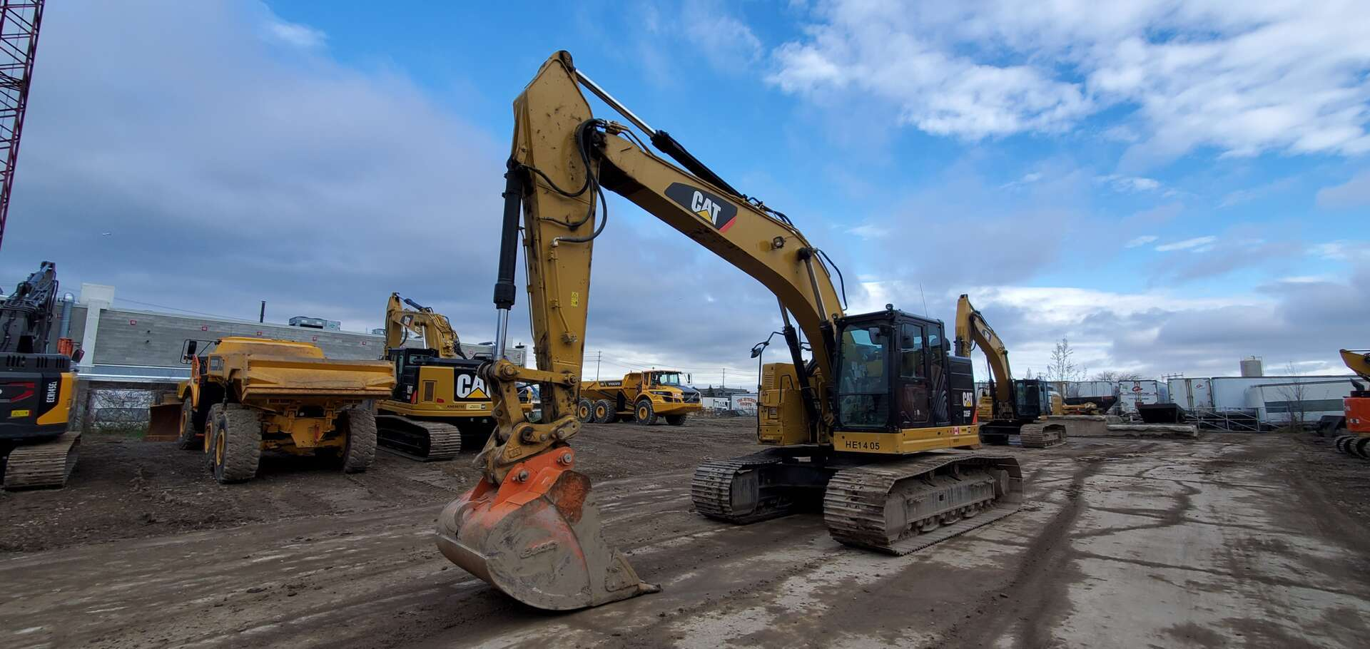 Used, 2015, CAT, 335F LCR, Excavators