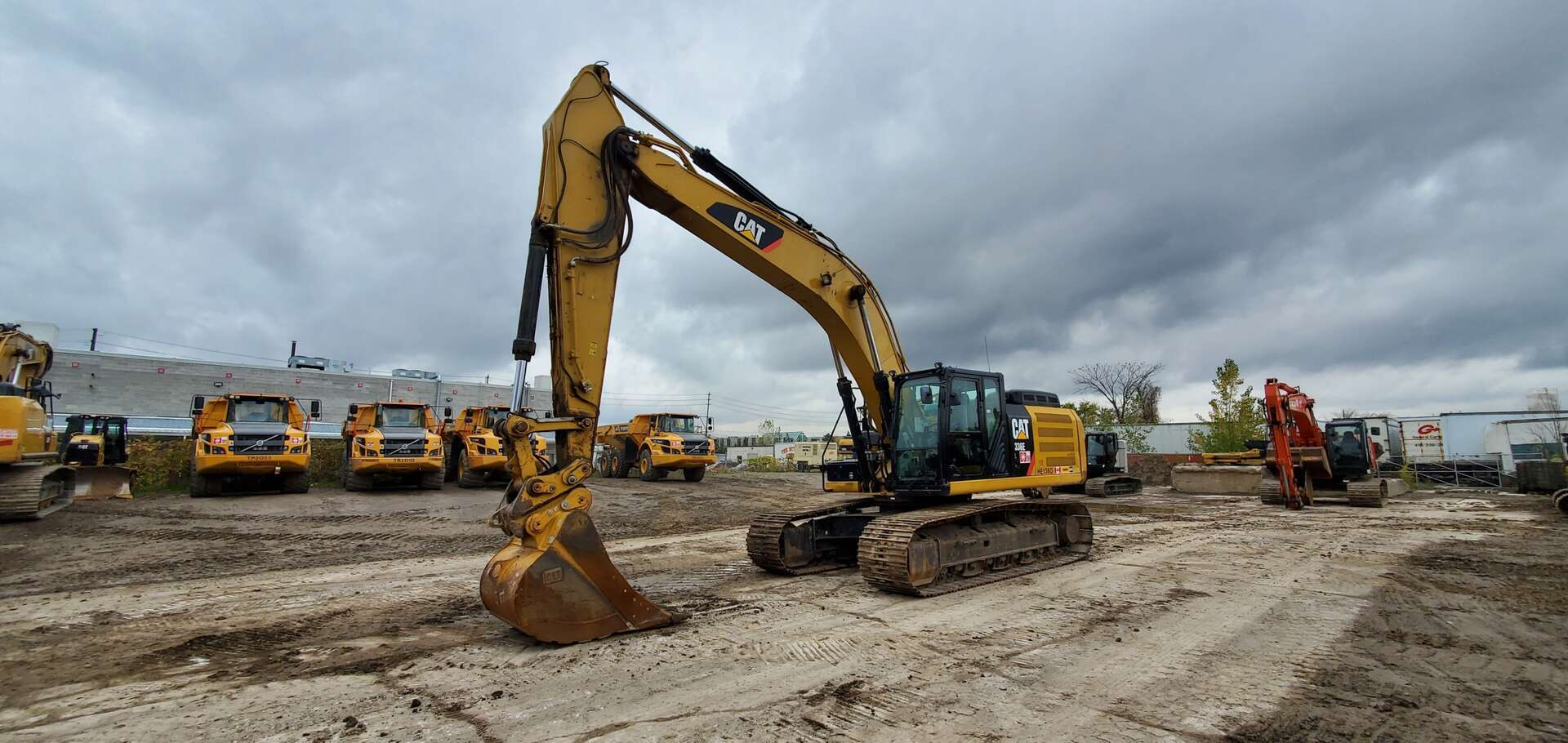 Used, 2015, CAT, 336EL, Excavators