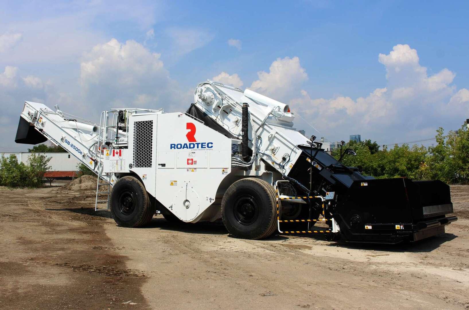 Other, 2018, Roadtec, SB2500E, Asphalt / Concrete Repair