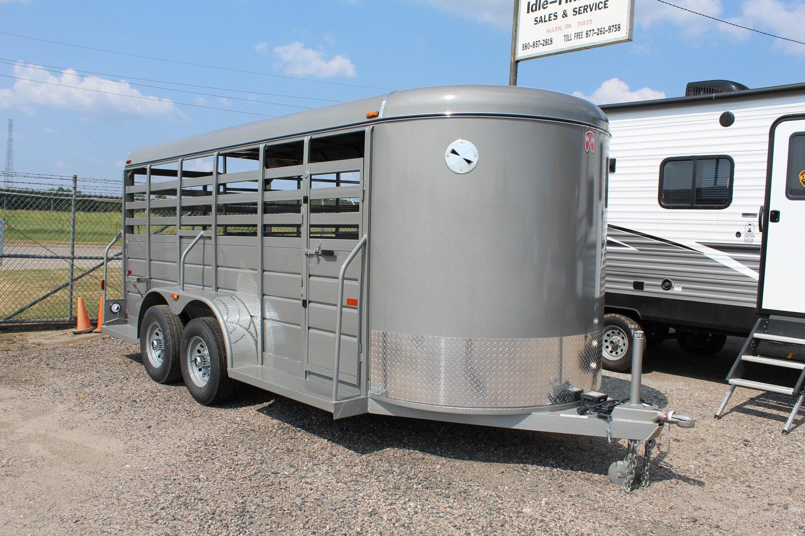 New, 2021, W-W Trailers, 16 x 6 All-Around, Horse / Livestock Trailers