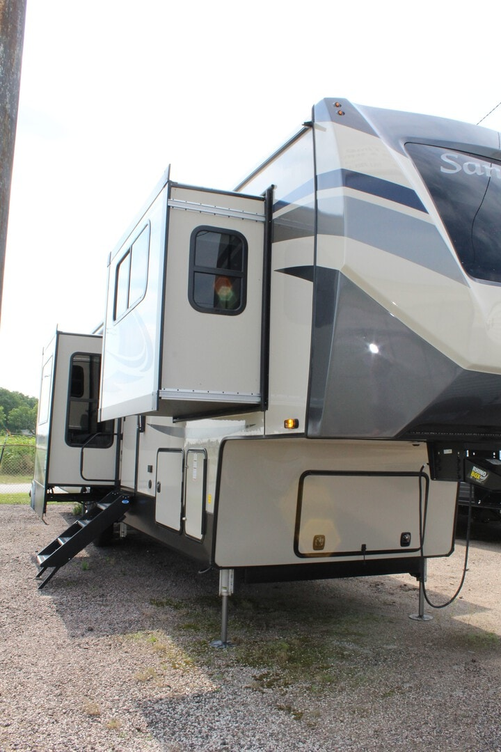 New, 2021, Forest River, Sandpiper 391FLRB, Fifth Wheels