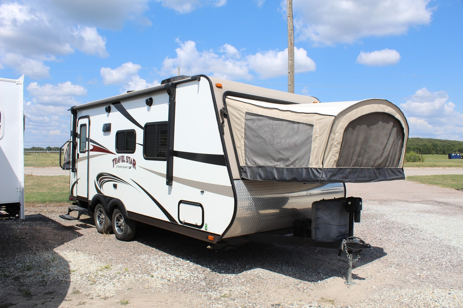 Used, 2016, Starcraft, Travel Star® Expandable 207RB, Travel Trailers