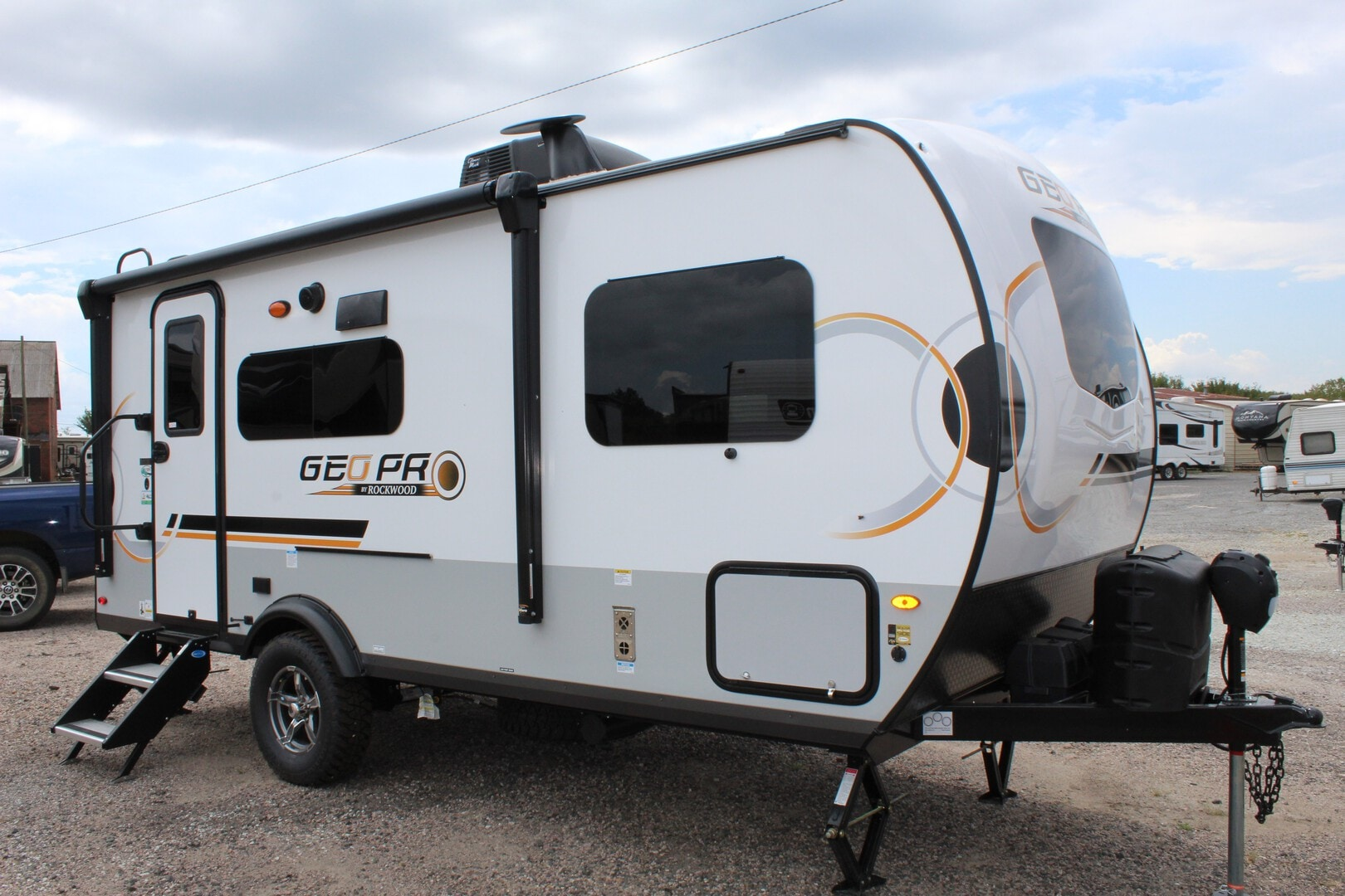 New, 2022, Forest River, Rockwood GeoPro G19FBS, Travel Trailers