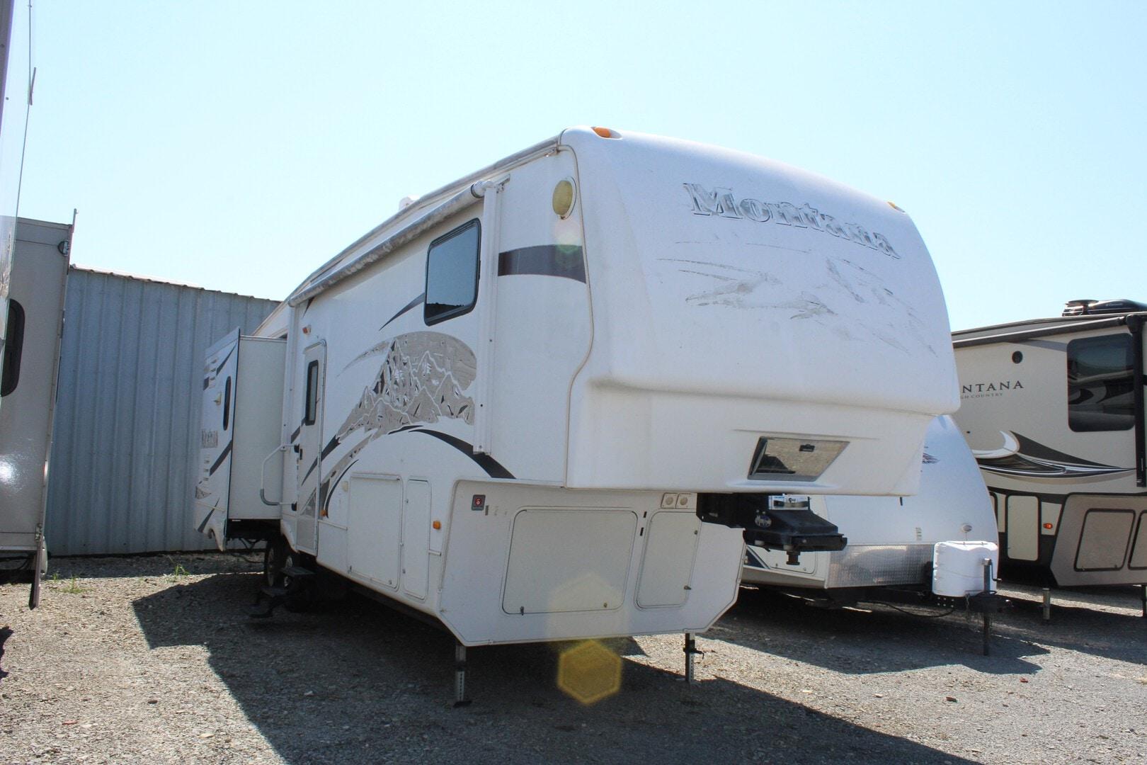 Used, 2009, Keystone, Montana 3075RL, Fifth Wheels