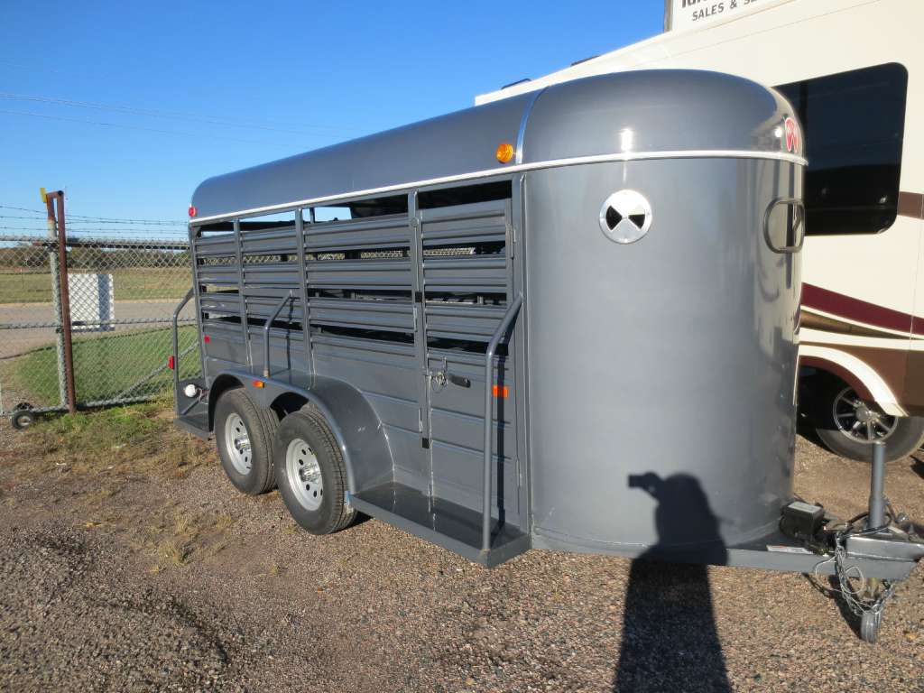 New, 2021, W-W Trailers, 5x14 All Around, Horse / Livestock Trailers