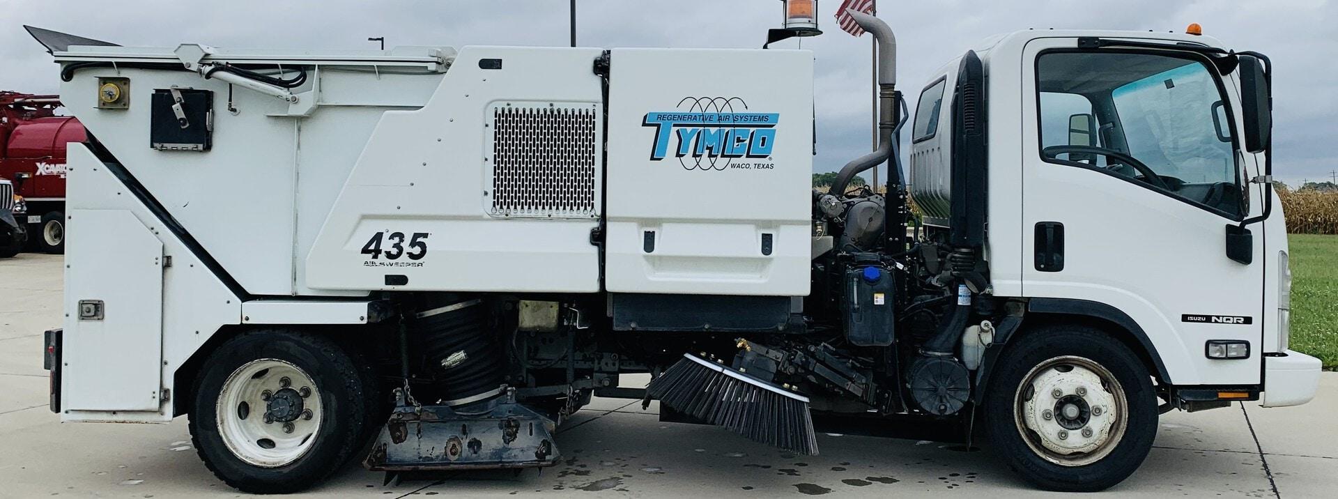Used, 2014, Tymco, 435 Sweeper, Sweepers