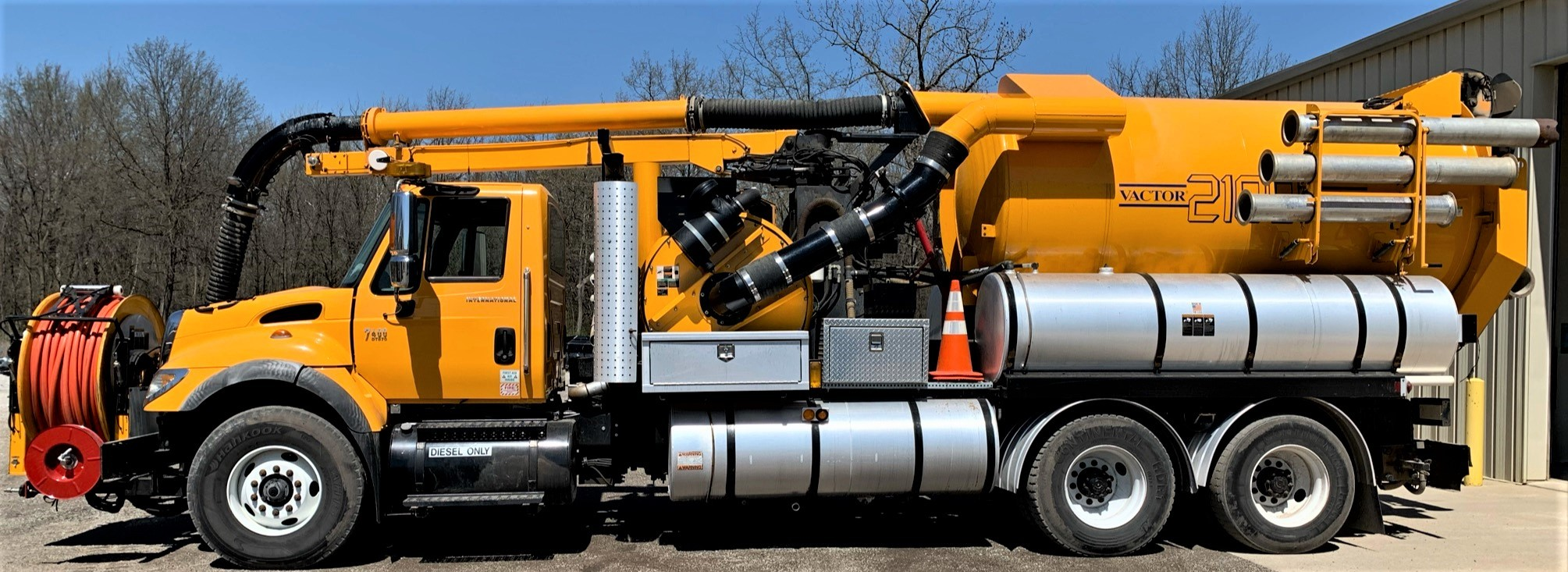 Used, 2006, Vactor, 2115-J6 Combination Sewer Cleaner, Tank & Vacuum Bodies