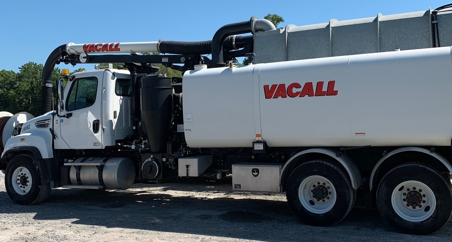 Used, 2016, Vacall, 1215 Combination Sewer Cleaner, Tank & Vacuum Bodies