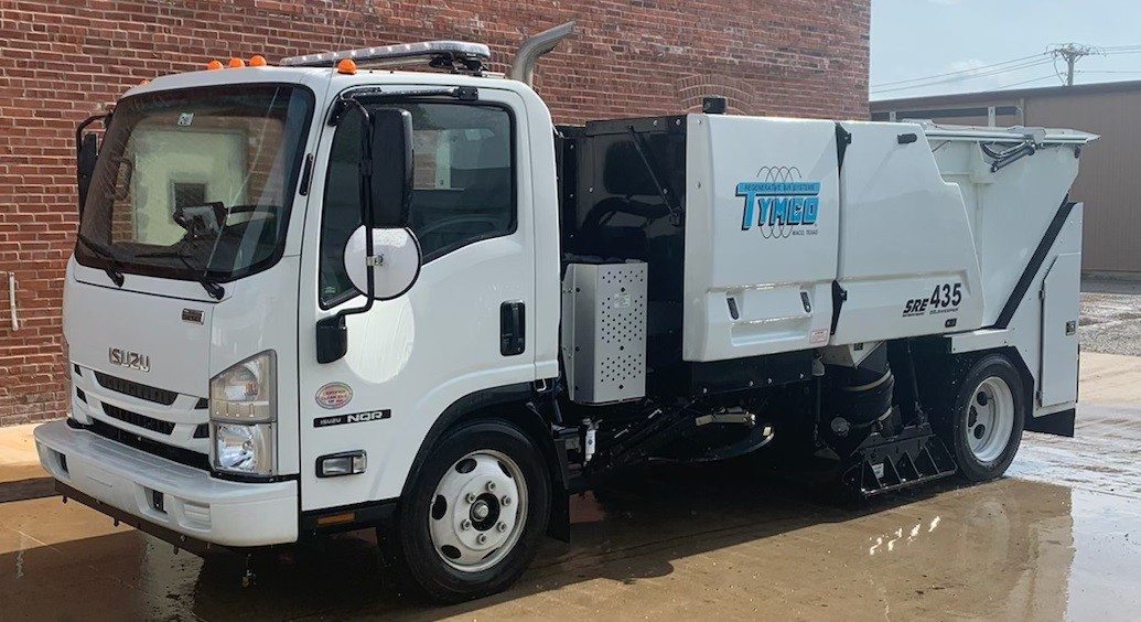 Used, 2018, Tymco, 435 Sweeper, Sweepers