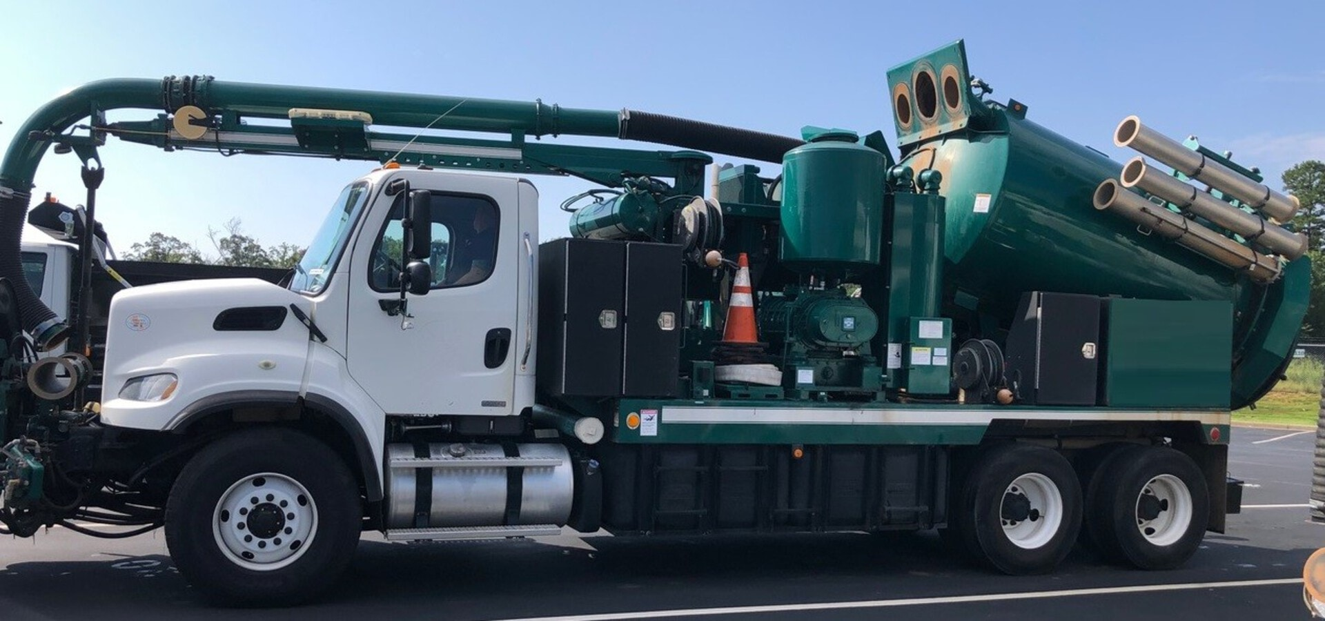 Used, 2012, Vac-Con, VPD3611LHRAN/1000 Combination Sewer Cleaner, Tank & Vacuum Bodies