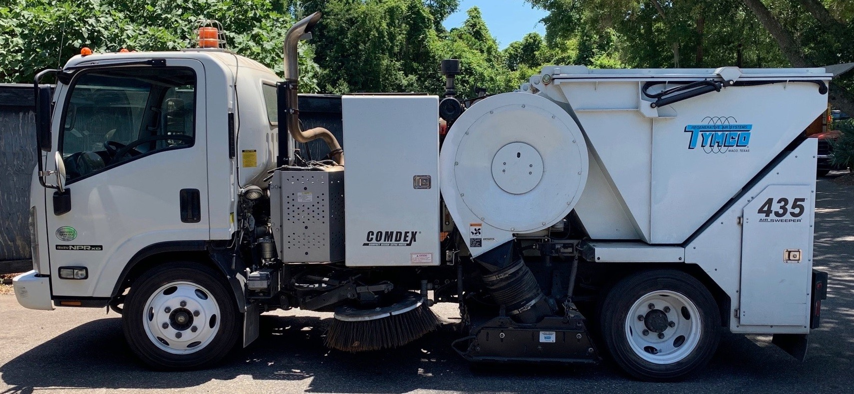 Used, 2017, Tymco, 435 Sweeper, Sweepers