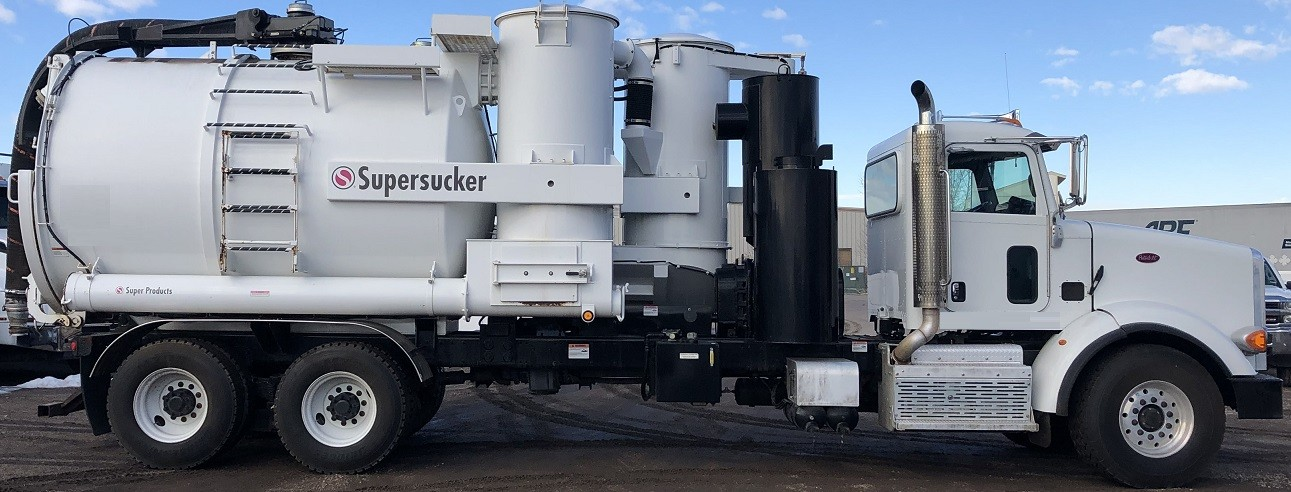 Used, 2015, Super Products, Supersucker 6227 Wet/Dry  Industrial Vacuum Loader, Tanker Trucks