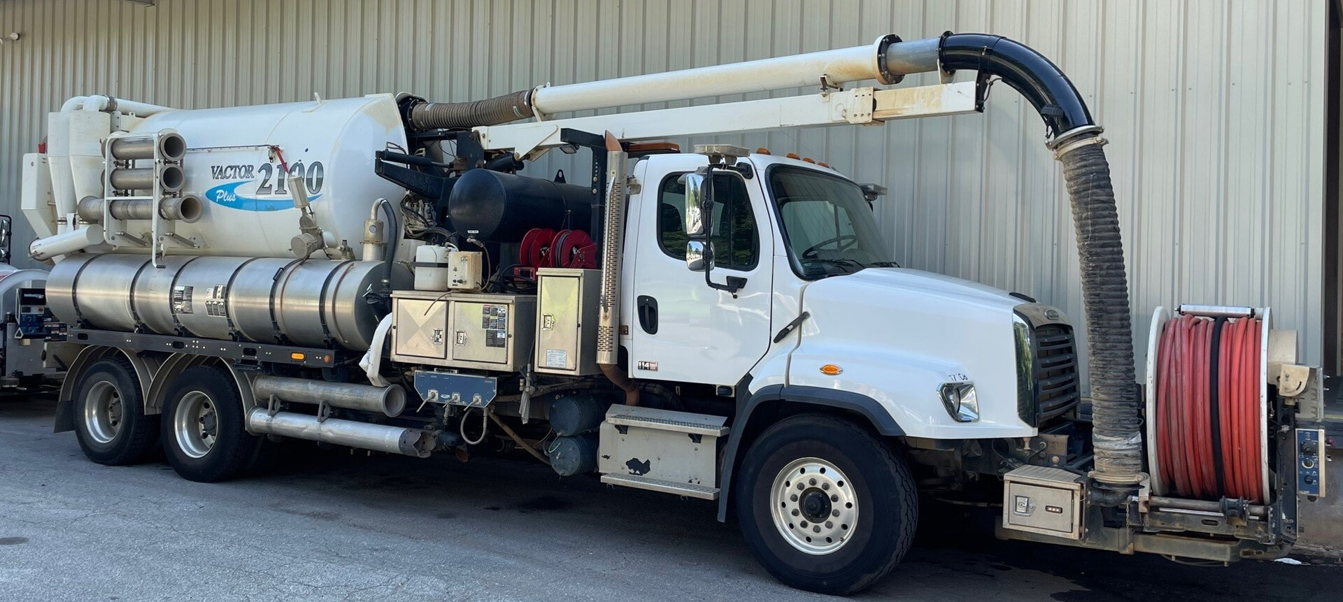 Used, 2018, Vactor, 2115 PLUS Combination Sewer Cleaner, Tank & Vacuum Bodies