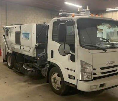 Used, 2018, Tymco, 435 Sweeper, Sweepers