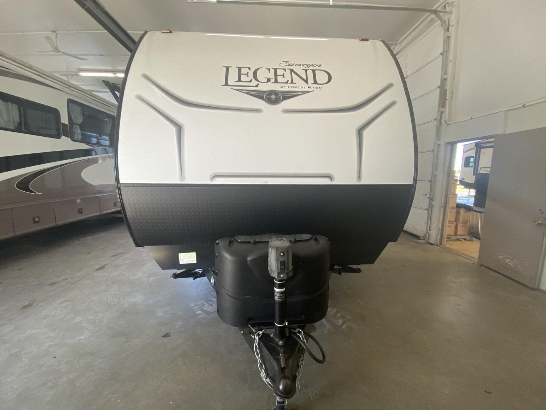 Used, 2019, Forest River, Surveyor Legend 323BHLE, Travel Trailers