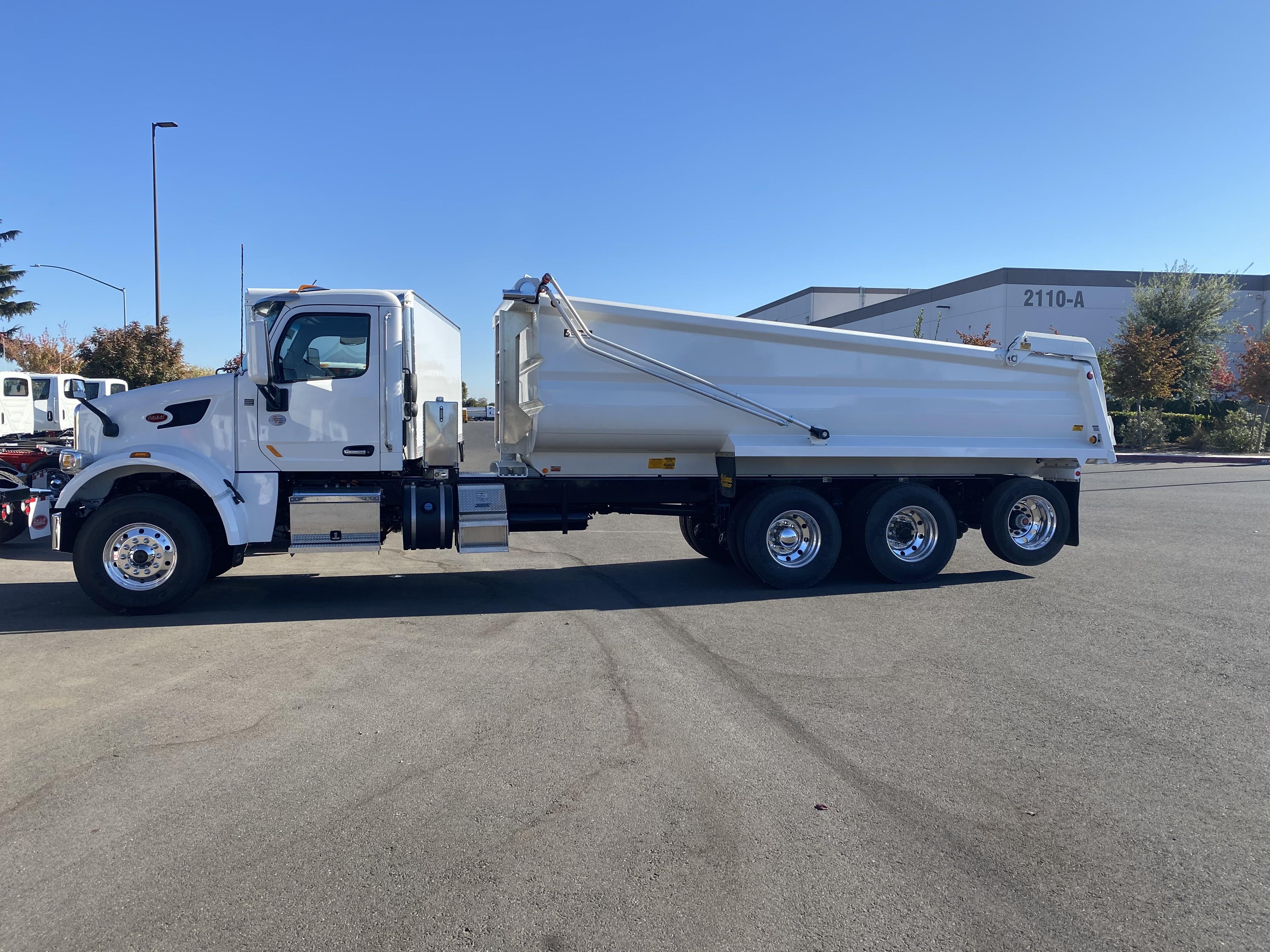 New, 2021, Peterbilt, 567, Dump Trucks