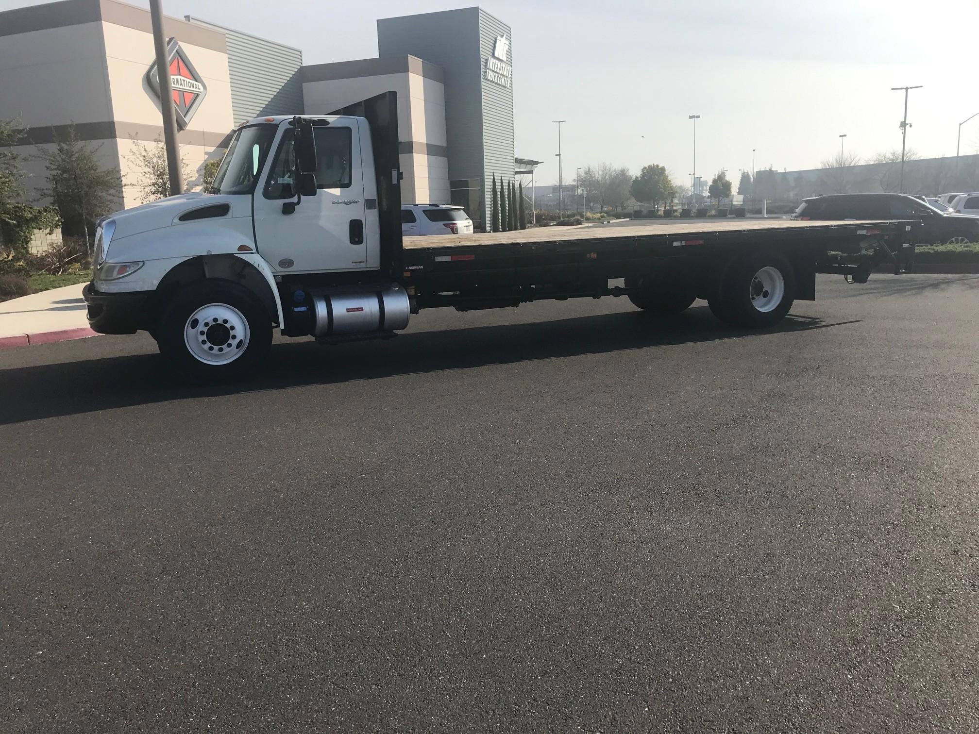 Used, 2015, International, 4300, Flatbed Trucks