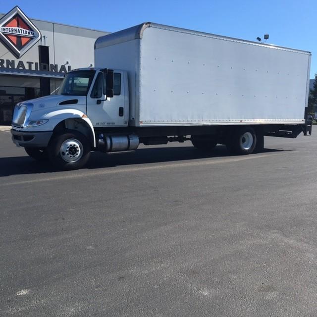 Used, 2015, International, 4300, Van Trucks