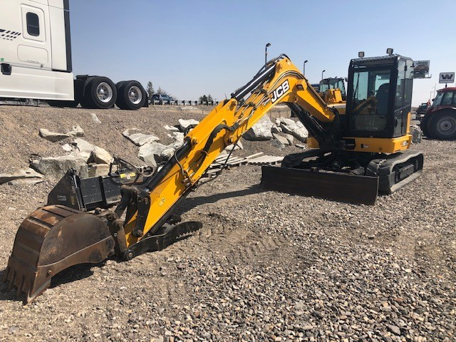 Used, 2017, JCB, 90Z-1, Excavators