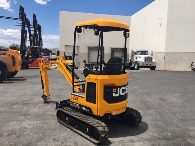 New, 2018, JCB, 18Z-1, Excavators