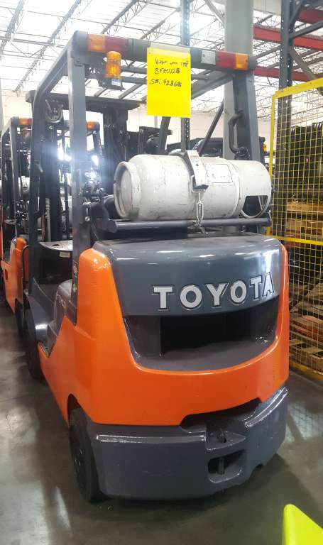 Used, 2012, Toyota Industrial Equipment, 8FGCU25, Forklifts / Lift Trucks