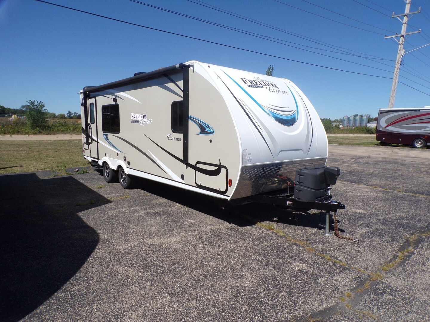 Used, 2018, Freedom Express Ultra-Lite, 246RKS, Travel Trailers