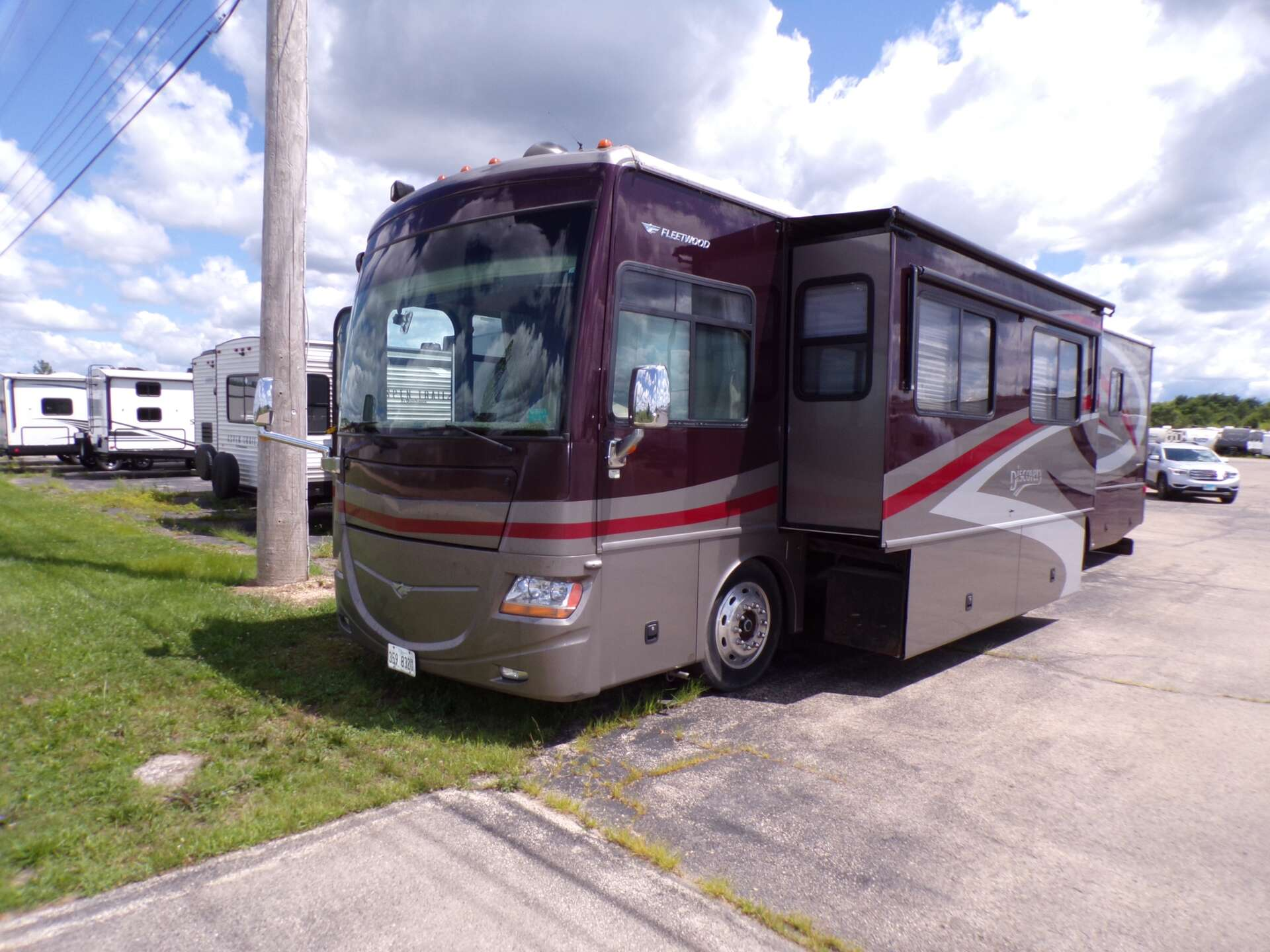 Used, 2008, Fleetwood, DISCOVERY 40X, RV - Class A
