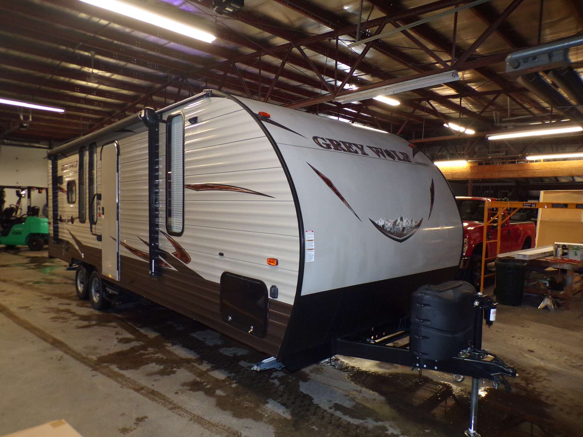 Used, 2017, Forest River, Grey Wolf 24RK, Travel Trailers
