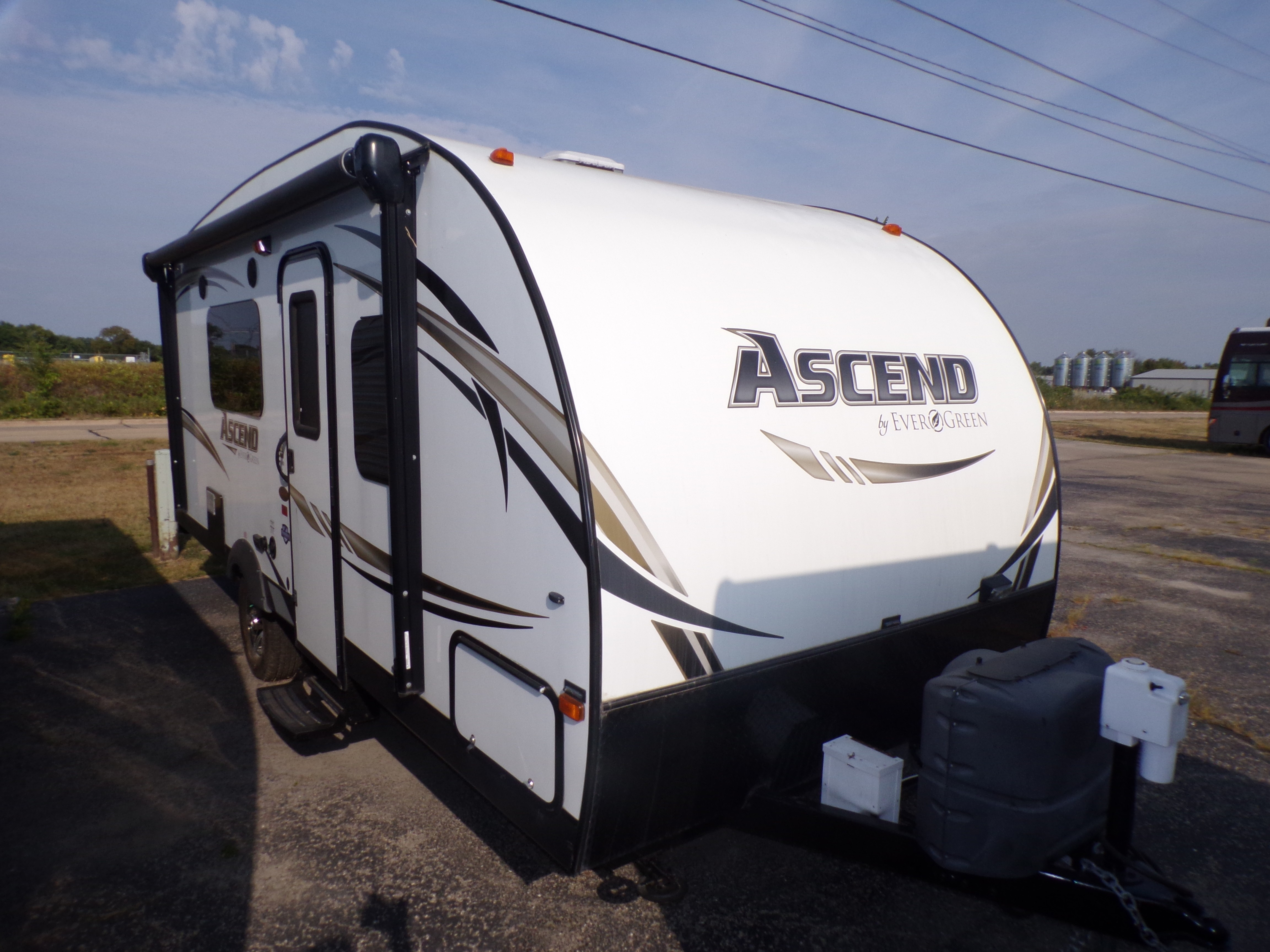 Used, 2014, EverGreen, Ascend A191RB, Travel Trailers