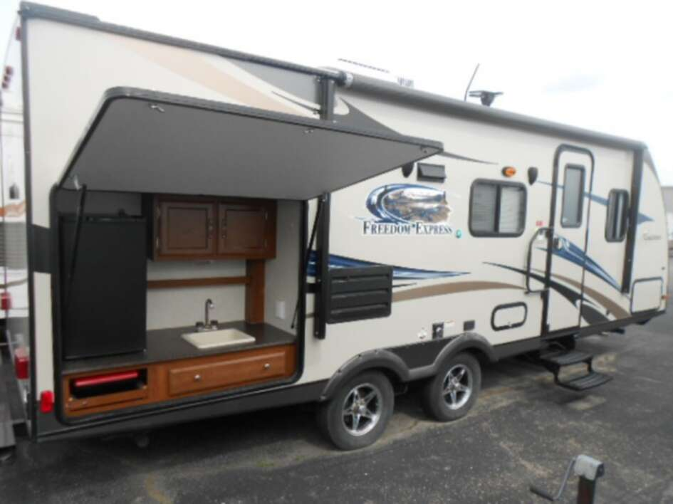 Used, 2013, Freedom Express, 237RBS, Travel Trailers