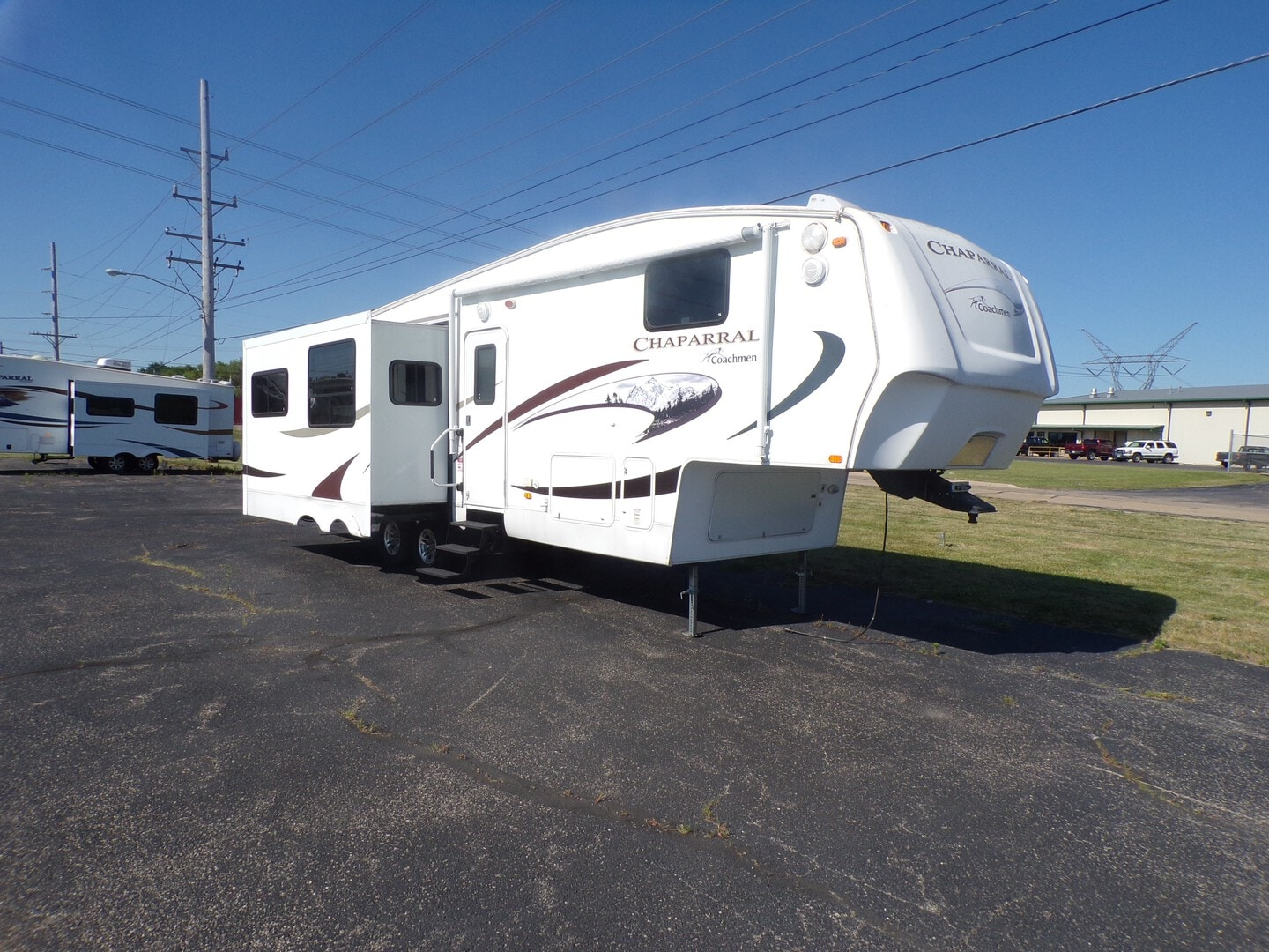 Used, 2008, Chaparral by Coachmen, 322RLDS, Fifth Wheels