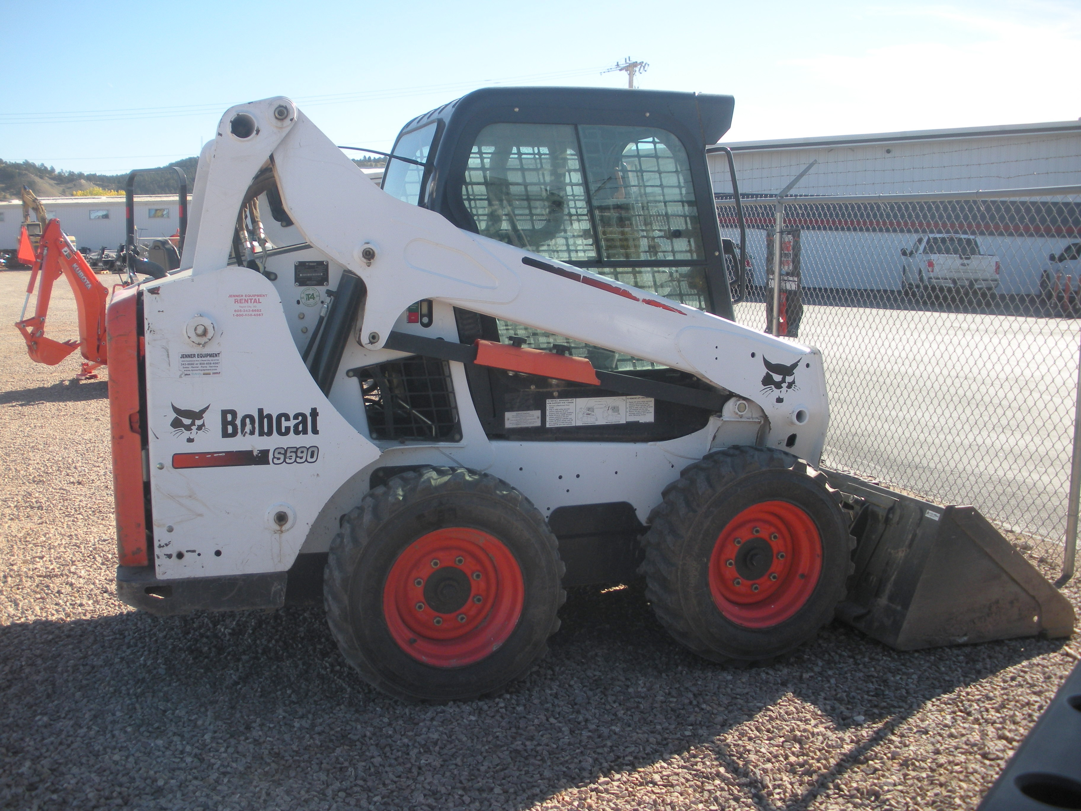 Used, 2014, Bobcat, S590, Skid Steers