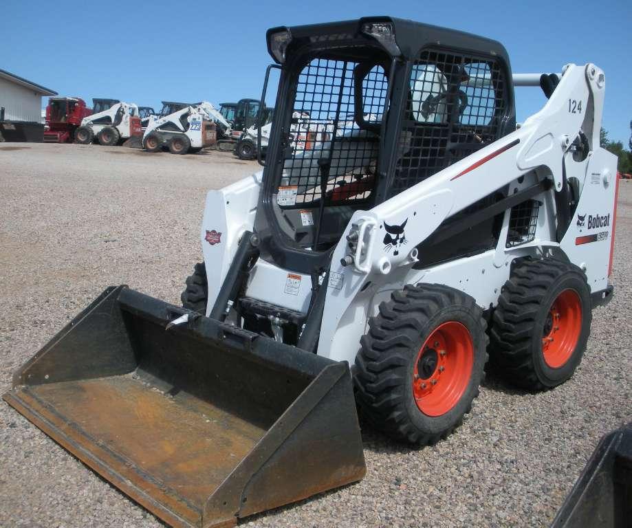 Used, 2015, Bobcat, S570, Skid Steers