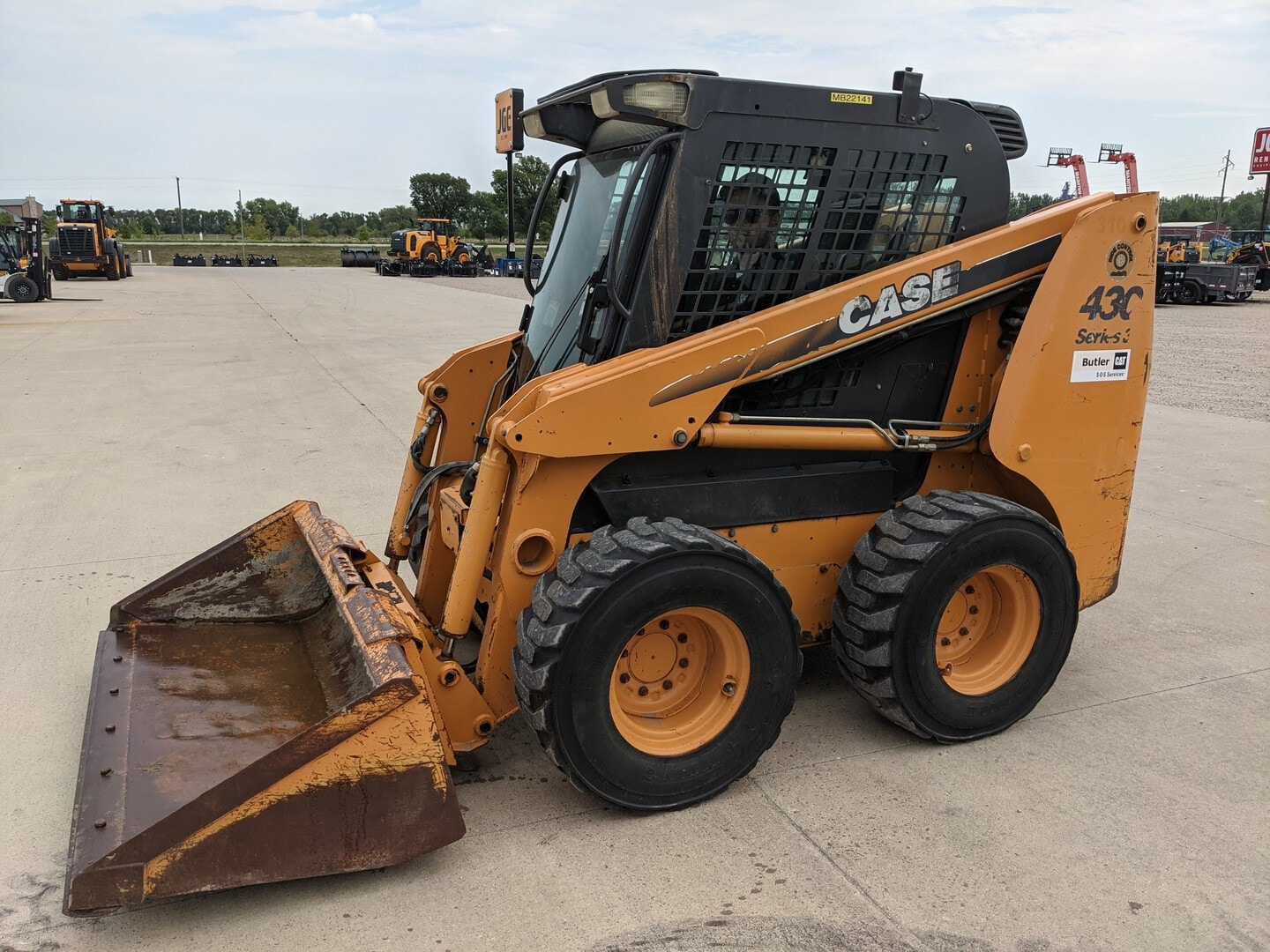 Used, 2008, Case Construction, 430, Skid Steers