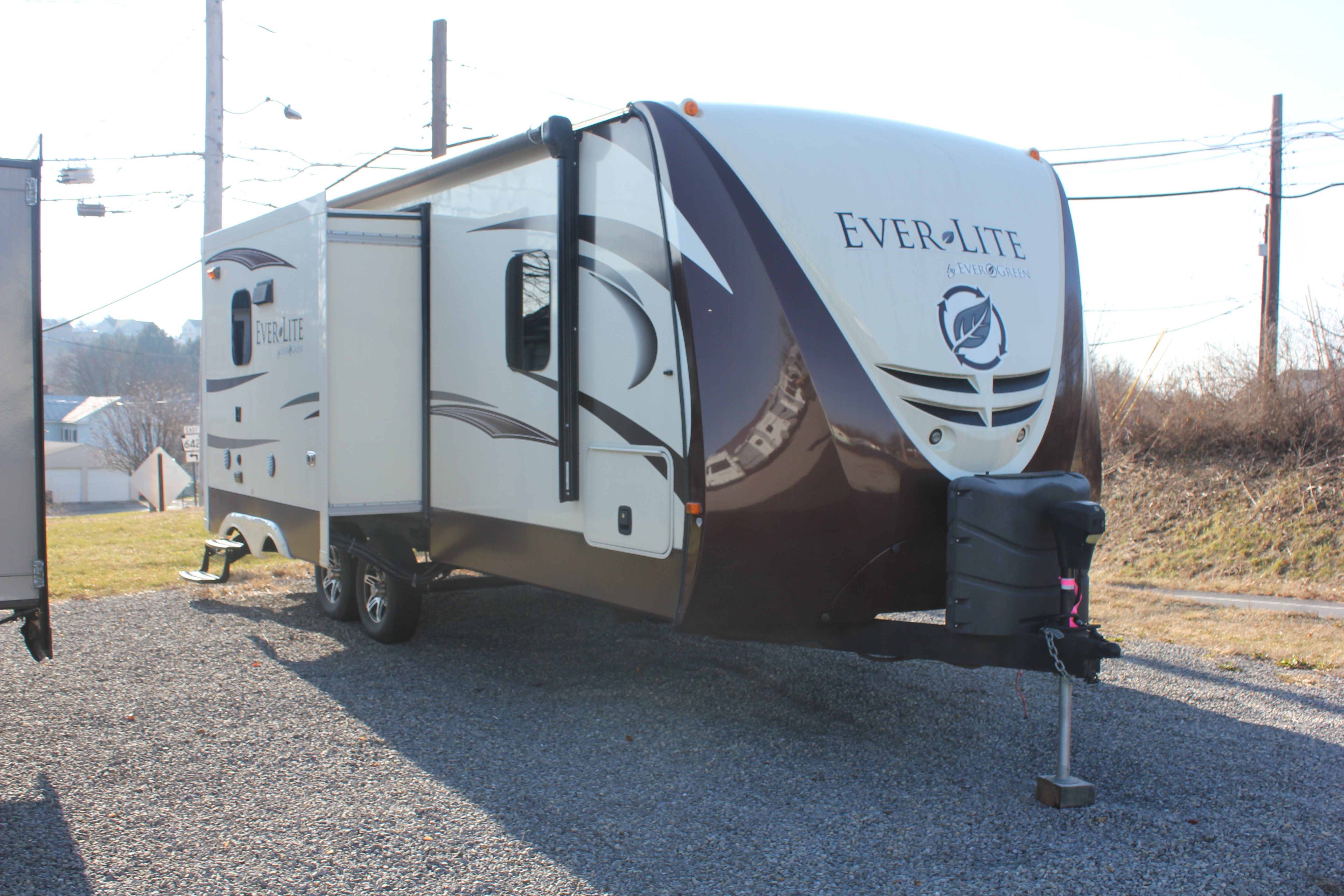 Used, 2015, EverGreen, Ever-Lite™ 232RBS, Travel Trailers