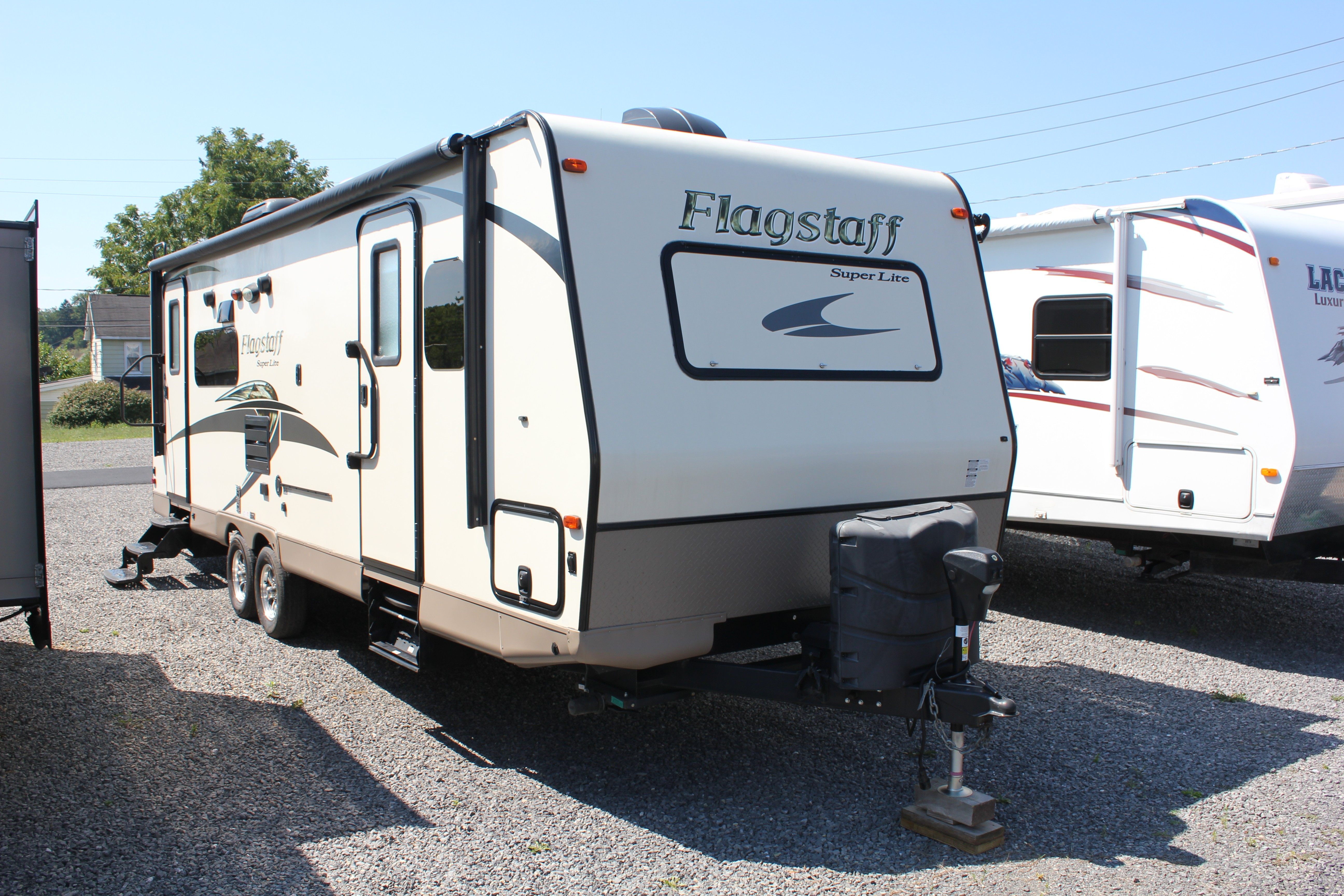 Used, 2015, Forest River, Flagstaff 26RLWS, Travel Trailers