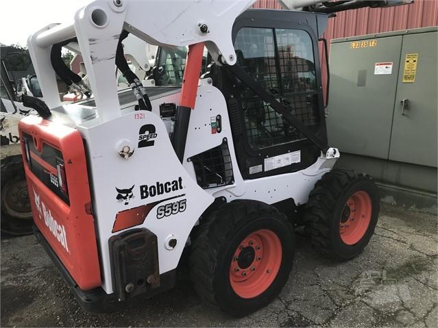 Used, 2017, Bobcat, S595, Skid Steers