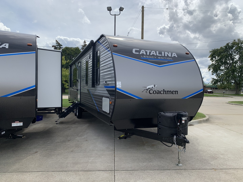 New, 2022, Coachmen, Catalina Legacy Edition 303RKDSLE, Travel Trailers