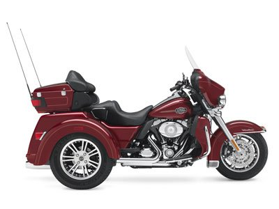 Used, 2010, Harley-Davidson, Tri Glide™ Ultra Classic®, Trikes