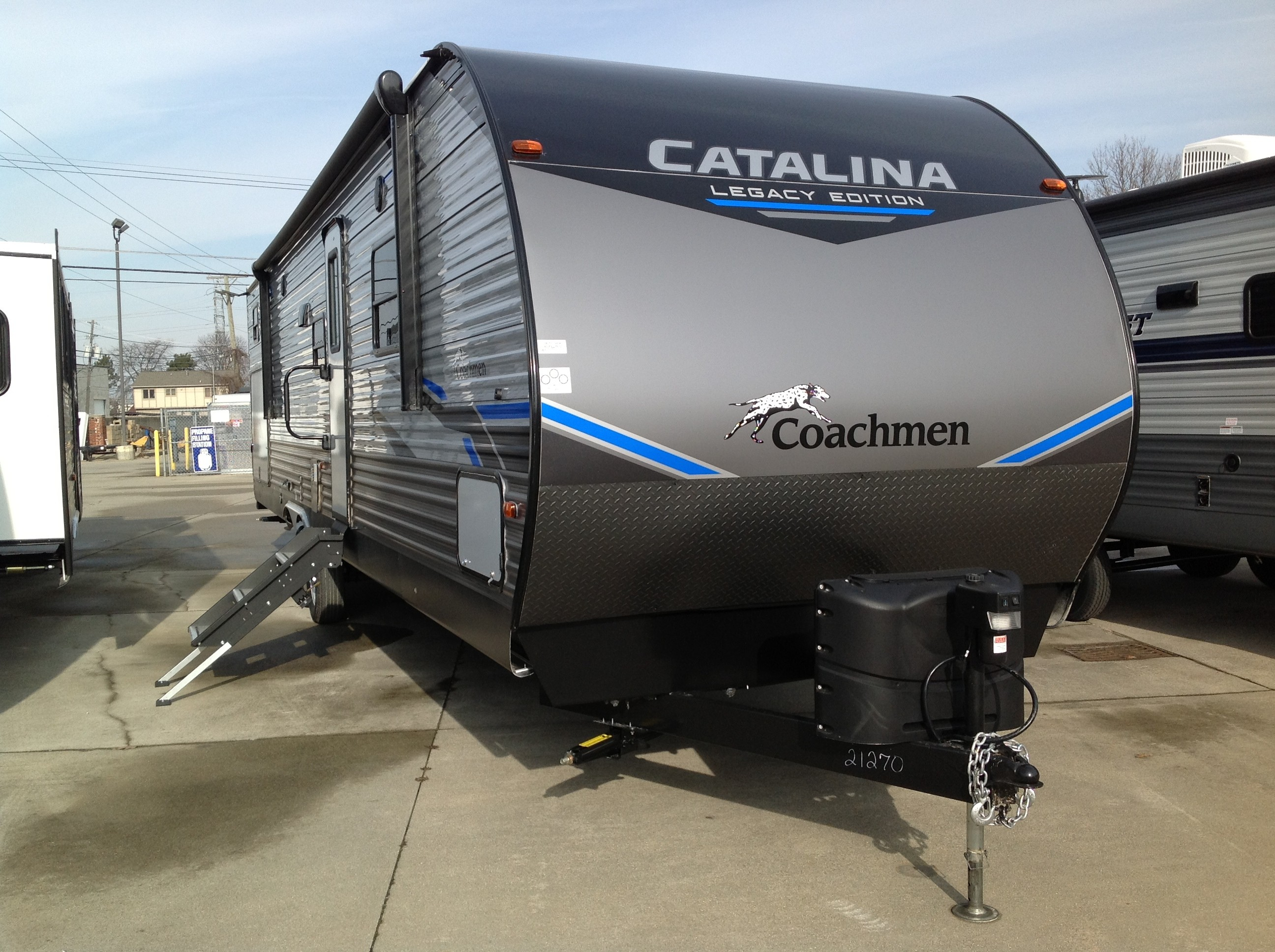New, 2021, Coachmen, Catalina Legacy 343 BHTSLE, Travel Trailers