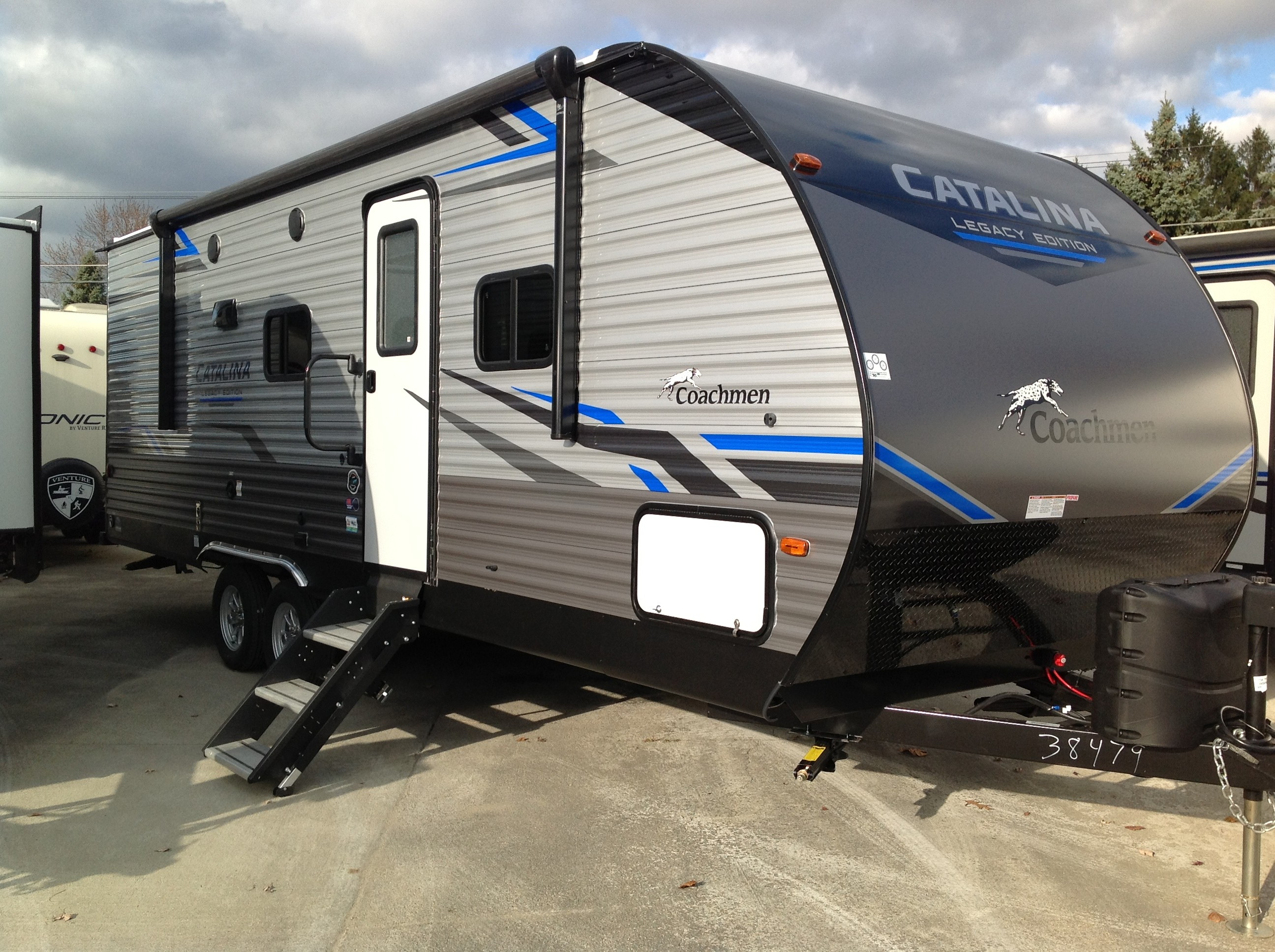 New, 2021, Coachmen, Catalina 243 RBSLE, Travel Trailers