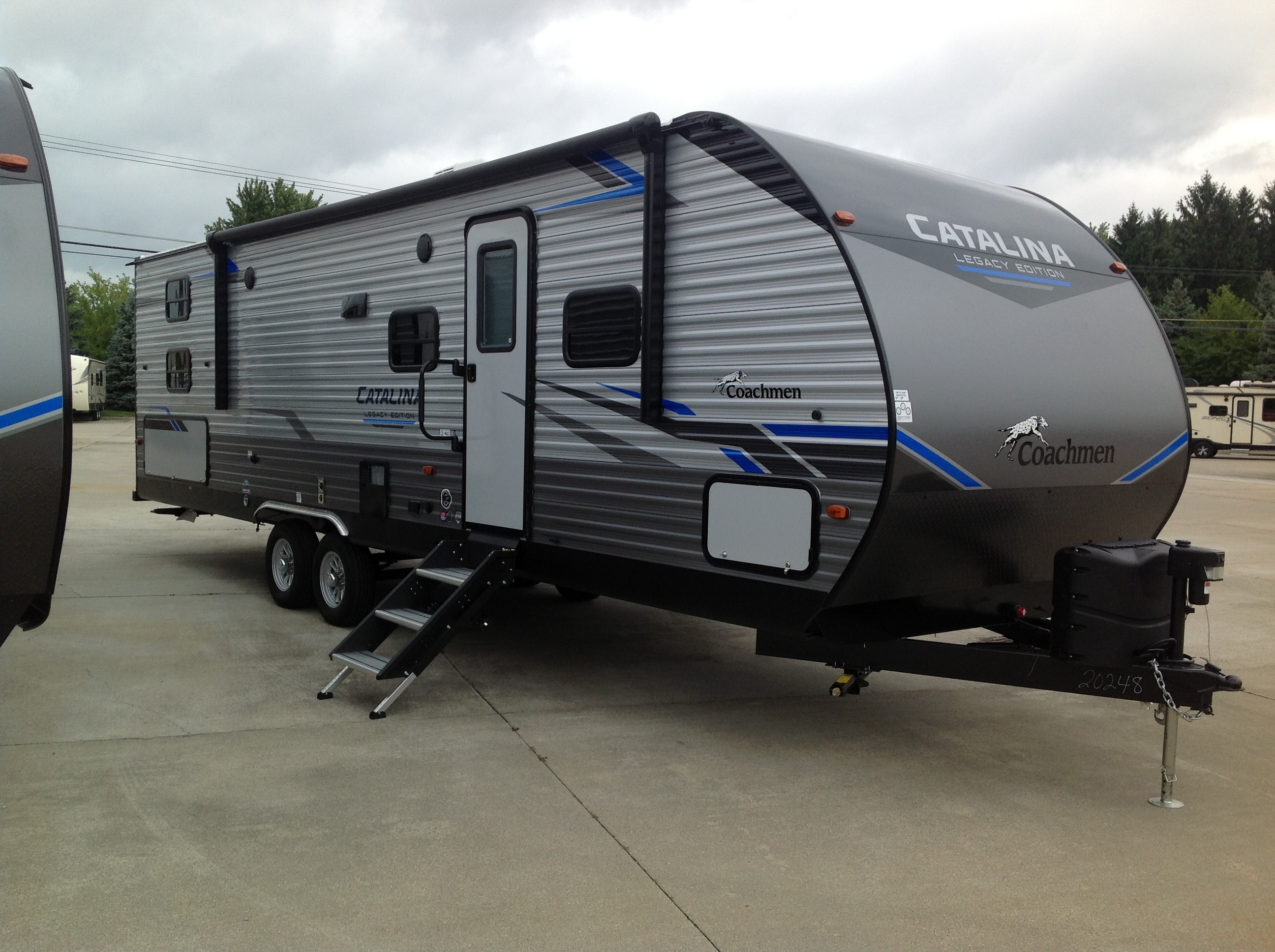 New, 2021, Coachmen, Catalina Legacy Edition 293QBCK, Travel Trailers