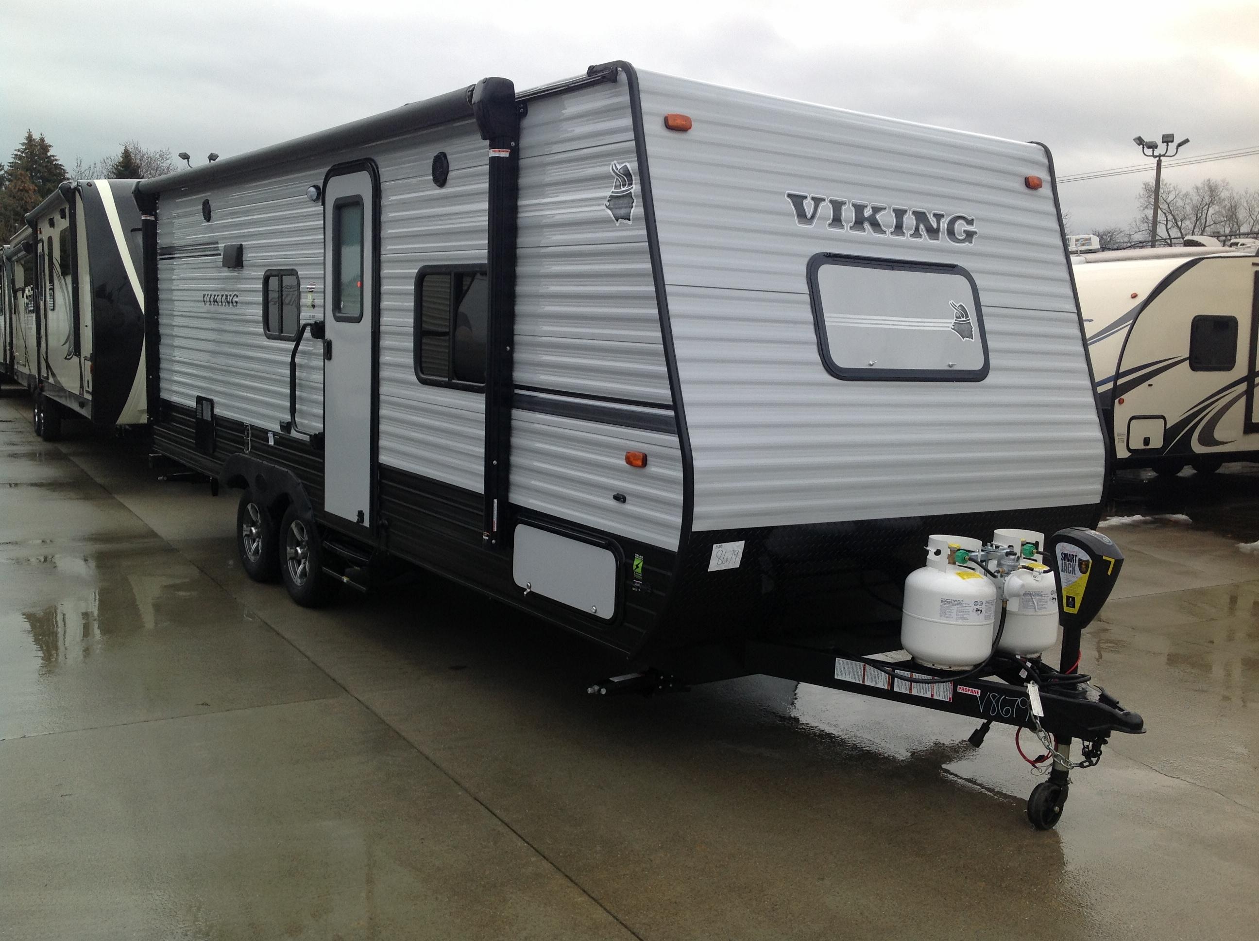New, 2019, Viking RVs, 21BHS, Travel Trailers