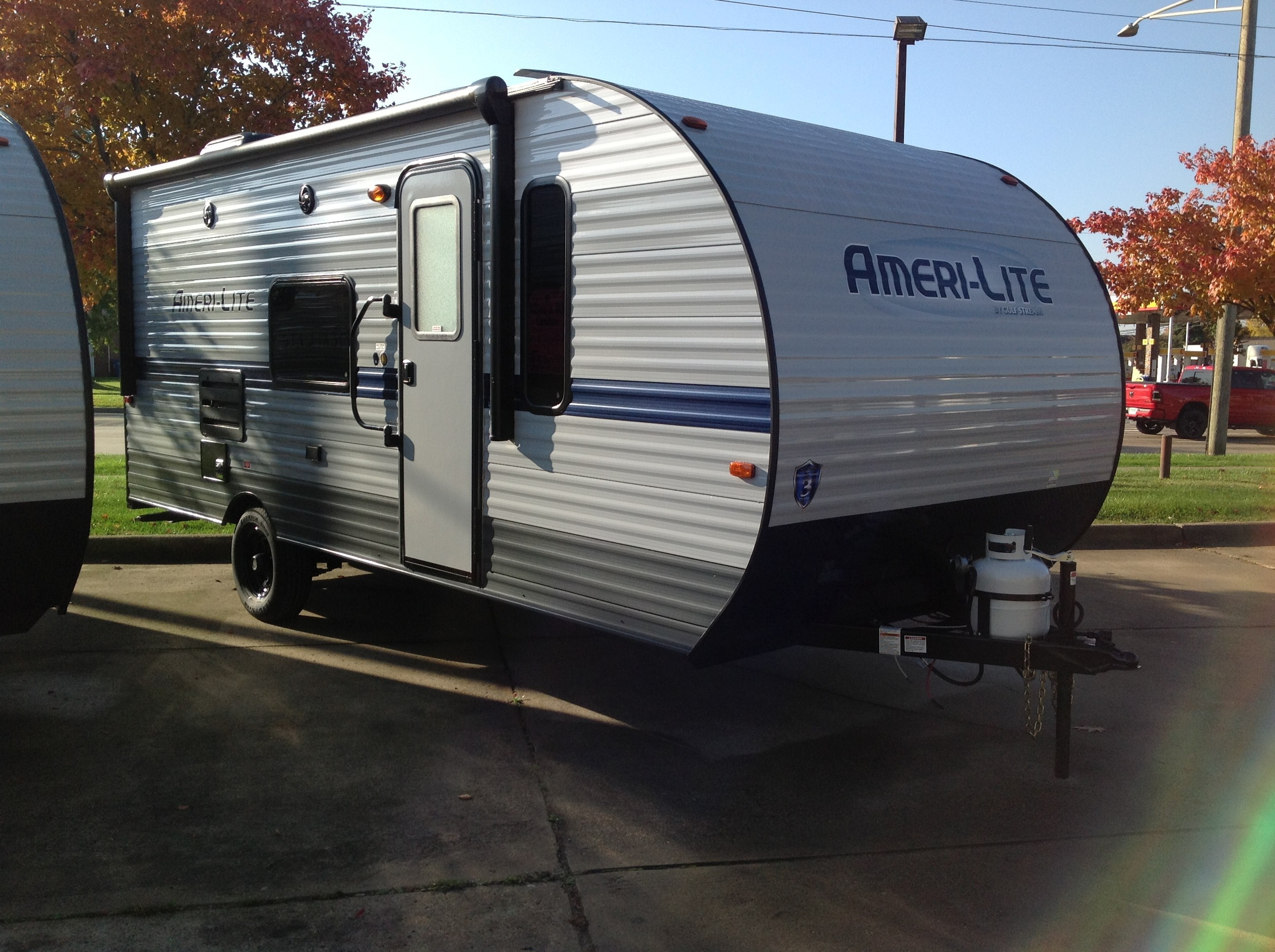 New, 2021, Gulf Stream, Ameralite 199DD, Travel Trailers