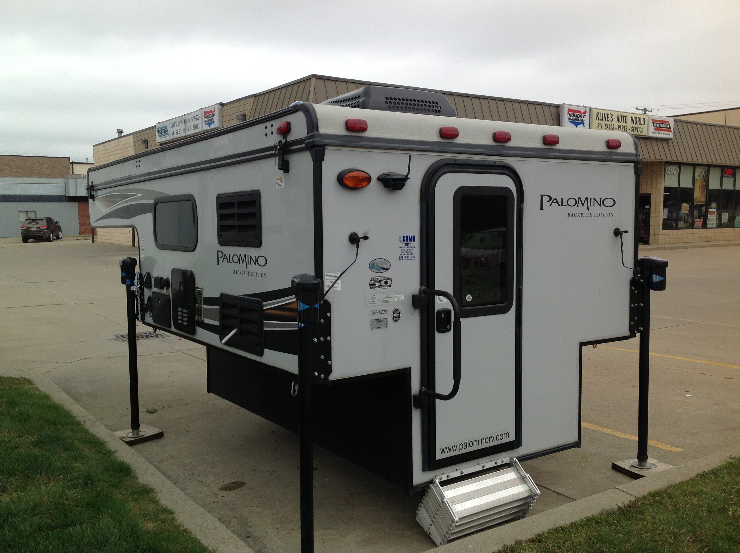 Used, 2019, Palomino, SS 1240 Soft Side, Truck Campers