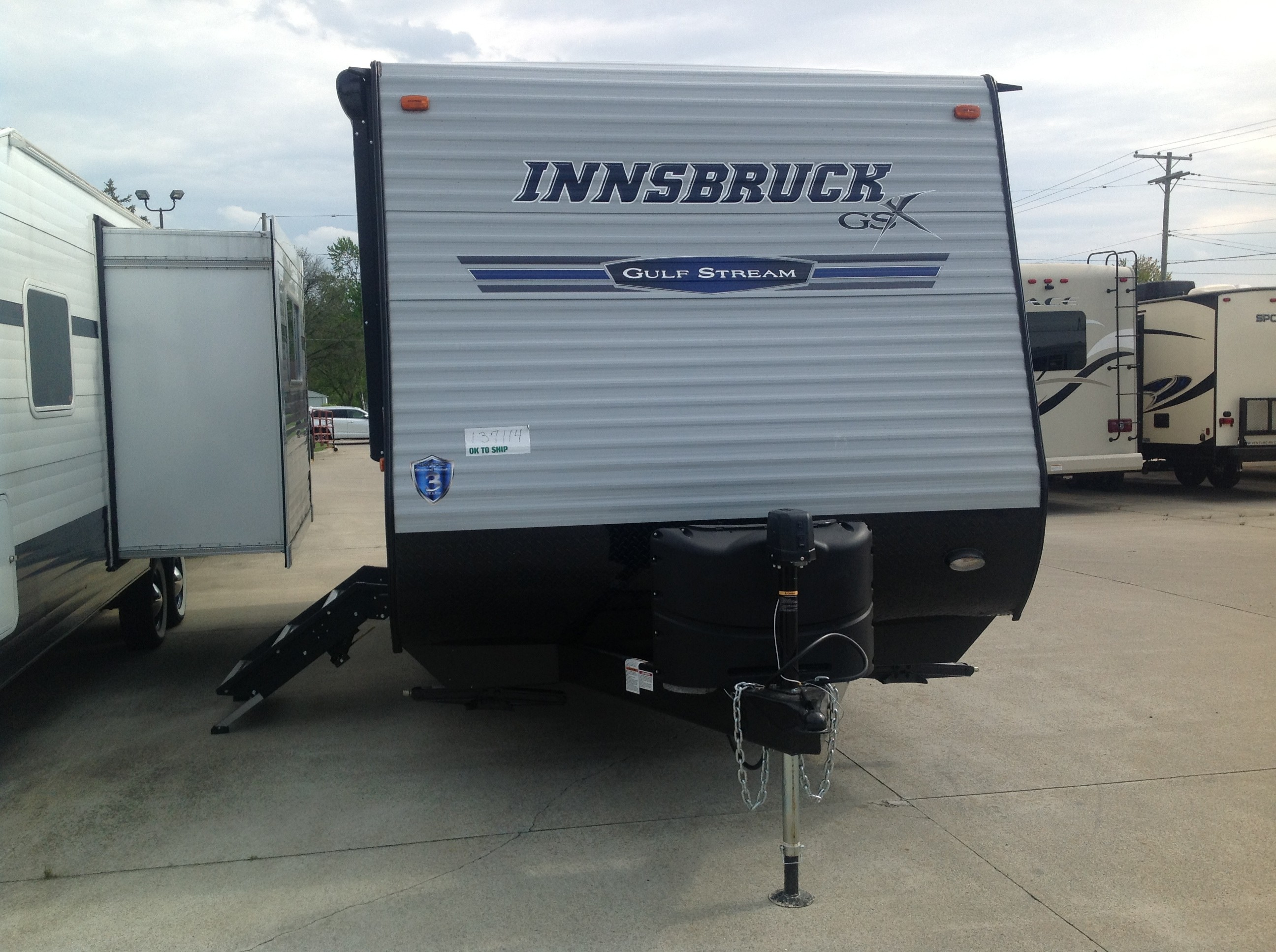New, 2020, Gulf Stream, Innsbruck 17TH, Toy Haulers